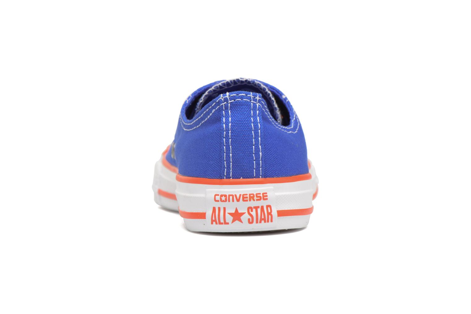 Sneakers Converse Chuck Taylor All Star Ox Seasonal Color Azzurro immagine destra